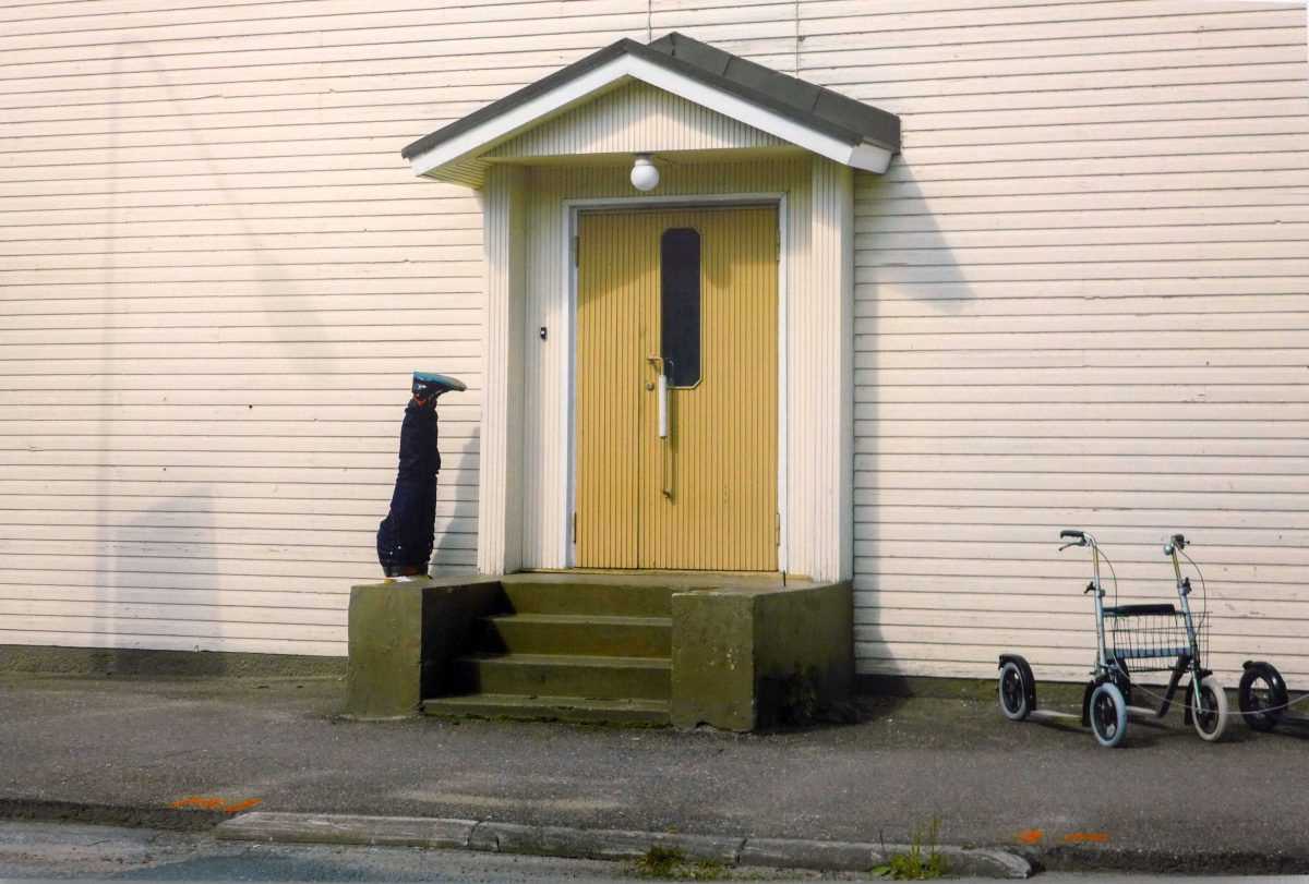 Vor der Tür - Niemand da